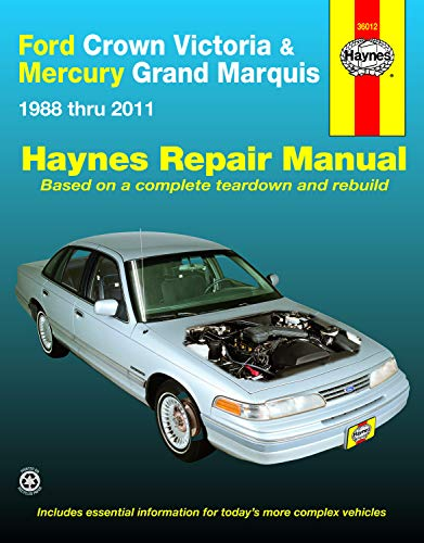 Ford Crown Victoria & Mercury Marquis: 1988 thru 2011 (Haynes Repair Manual): Freund, Ken