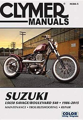 9781620921968: Suzuki LS650 Savage/Boulevard S40 1986-2015 (Clymer Manuals)