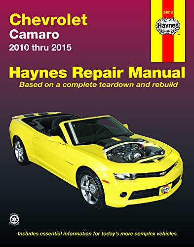 9781620922002: Chevrolet Camaro Automotive Repair Manual: 2010-15