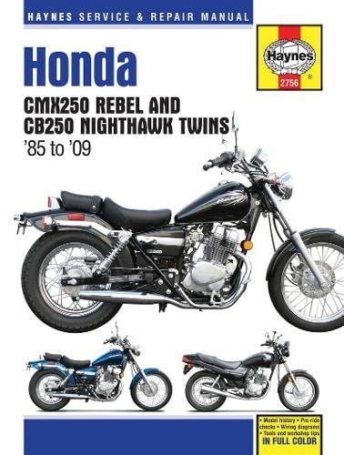 Honda Cmx Rebel & Cb350 Nighthawk Twins Motorcycle Repair Ma