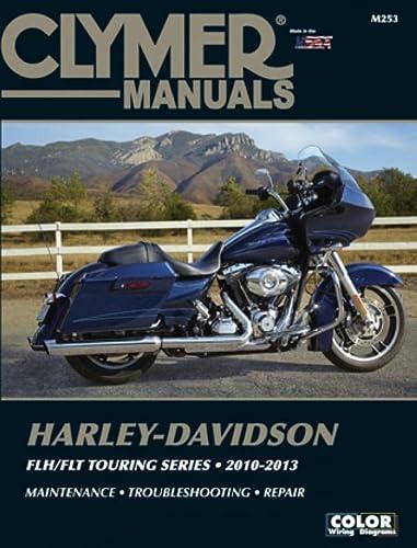 Harley-Davidson Flh/Flt Touring Series 2010-2013 (Paperback): Editors of Haynes Manuals