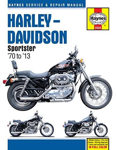 Harley-Davidson Sportsters 1970 - 2010 (Haynes Service: Anon