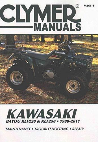 Kawasaki Bayou KLF220 & KLF250 1988-2011 (Paperback): Editors of Clymer Manuals