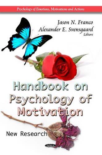 9781621007555: Handbook on Psychology of Motivation: New Research (Psychology of Emotions, Motivations and Actions)