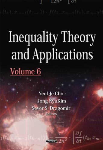 Inequality Theory & Applications: 6