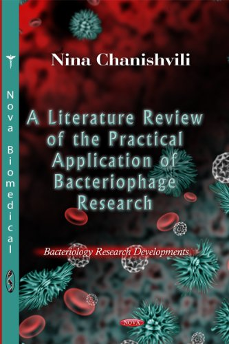 9781621008514: A Literature Review of the Practical Application of Bacteriophage Research (Bacteriology Research Development)
