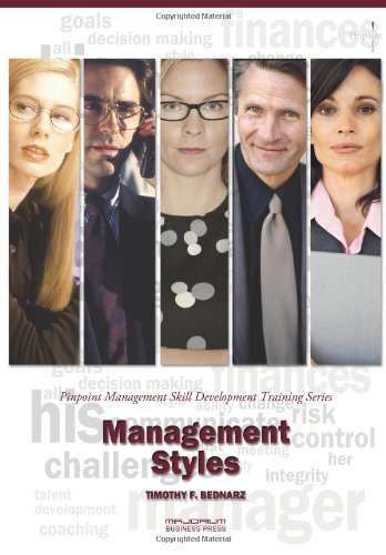 9781621010661: Management Styles: Pinpoint Management Skill Development Training Series