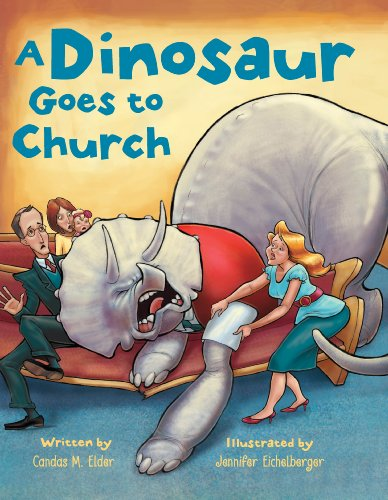 9781621084235: A Dinosaur Goes to Church