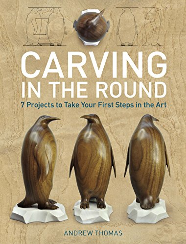 9781621130086: Carving in the Round: 7 Projects to Take Your First Steps in the Art