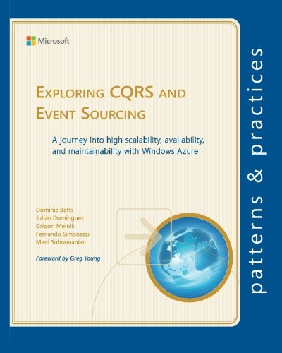 9781621140160: Exploring CQRS and Event Sourcing: A journey into high scalability, availability, and maintainability with Windows Azure (Microsoft patterns & practices)
