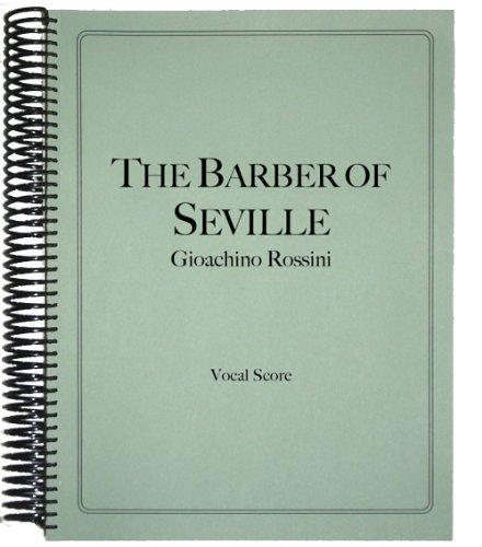 9781621180272: The Barber of Seville Vocal Score