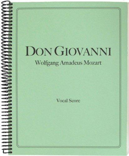 9781621180340: Don Giovanni Vocal Score (English and Italian Edition)