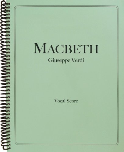 9781621181217: Macbeth Vocal Score