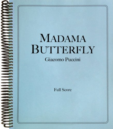 9781621181309: Madama Butterfly in Full Score