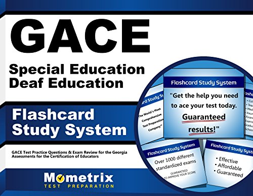 9781621200529: GACE Special Education Deaf Education Flashcard Study System: GACE Test Practice Questions & Exam Review for the Georgia Assessments for the Certification of Educators (Cards)