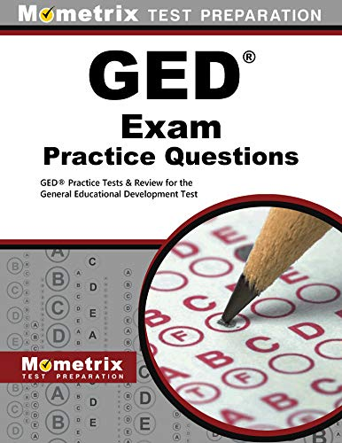9781621200536: GED Exam Practice Questions: GED Practice Tests & Review for the General Educational Development Test