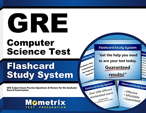 9781621200543: GRE Computer Science Test Flashcard Study System: GRE Subject Exam Practice Questions & Review for the Graduate Record Examination (Cards)