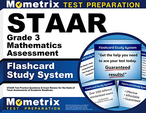9781621201069: STAAR Grade 3 Mathematics Assessment Flashcard Study System: STAAR Test Practice Questions & Exam Review for the State of Texas Assessments of Academic Readiness (Cards)
