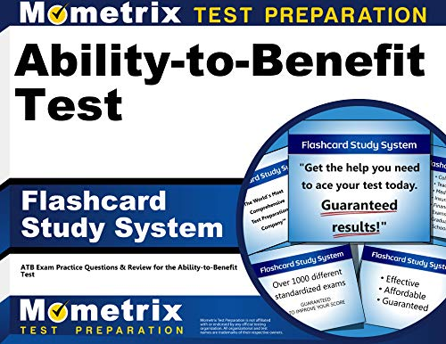 9781621201601: Ability-to-Benefit Test Flashcard Study System: ATB Exam Practice Questions & Review for the Ability-to-Benefit Test (Cards)