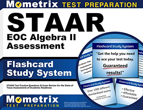 9781621201755: STAAR EOC Algebra II Assessment Flashcard Study System: STAAR Test Practice Questions & Exam Review for the State of Texas Assessments of Academic Readiness (Cards)