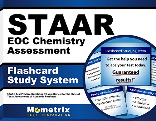 9781621201793: STAAR EOC Chemistry Assessment Flashcard Study System: STAAR Test Practice Questions & Exam Review for the State of Texas Assessments of Academic Readiness (Cards)