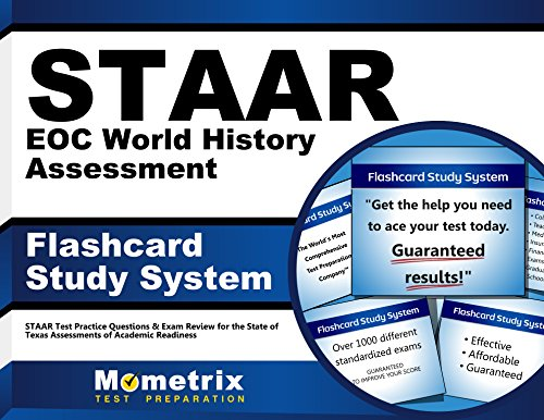 9781621201885: STAAR EOC World History Assessment Flashcard Study System: STAAR Test Practice Questions & Exam Review for the State of Texas Assessments of Academic Readiness (Cards)