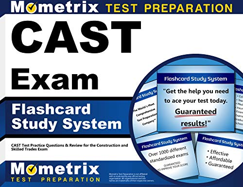 9781621208624: CAST Exam Flashcard Study System: CAST Test Practice Questions & Review for the Construction and Skilled Trades Exam (Cards)