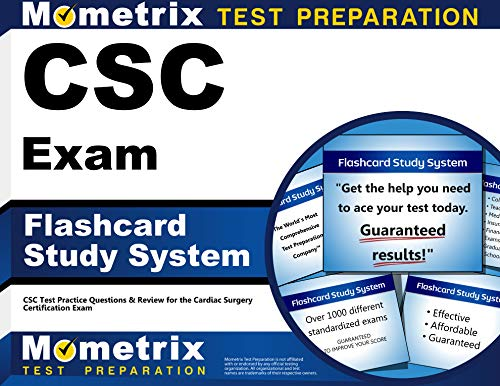 9781621208846: CSC Exam Flashcard Study System: CSC Test Practice Questions & Review for the Cardiac Surgery Certification Exam (Cards)