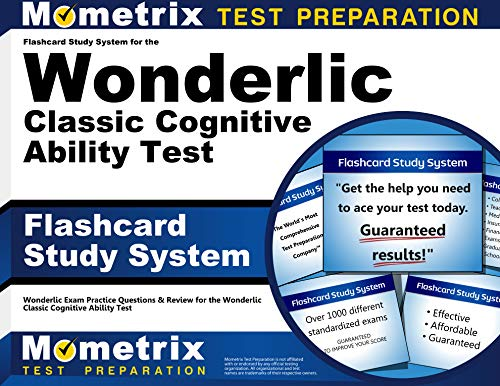 9781621208860: Flashcard Study System for the Wonderlic Classic Cognitive Ability Test: Wonderlic Exam Practice Questions & Review for the Wonderlic Classic Cognitive Ability Test (Cards)