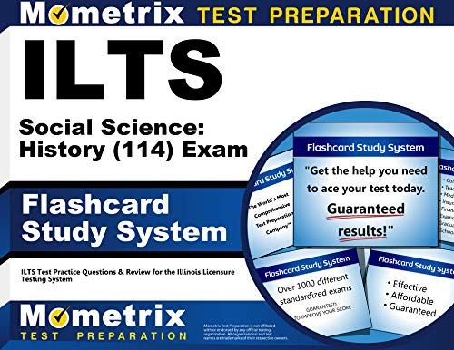 9781621209386: ILTS Social Science: History (114) Exam Flashcard Study System: ILTS Test Practice Questions & Review for the Illinois Licensure Testing System (Cards)