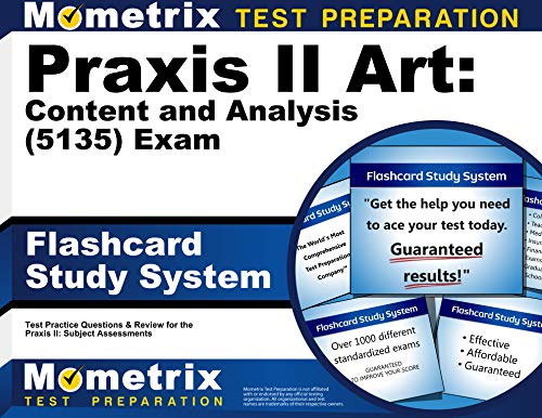 9781621209843: Praxis II Art: Content and Analysis (5135) Exam Flashcard Study System: Praxis II Test Practice Questions & Review for the Praxis II: Subject Assessments (Cards)