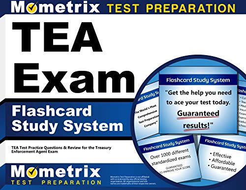 9781621209904: TEA Exam Flashcard Study System: TEA Test Practice Questions & Review for the Treasury Enforcement Agent Exam (Cards)