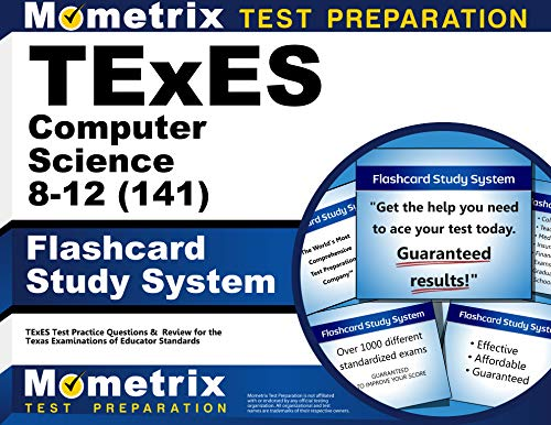9781621209911: TExES Computer Science 8-12 (141) Flashcard Study System: TExES Test Practice Questions & Review for the Texas Examinations of Educator Standards (Cards)