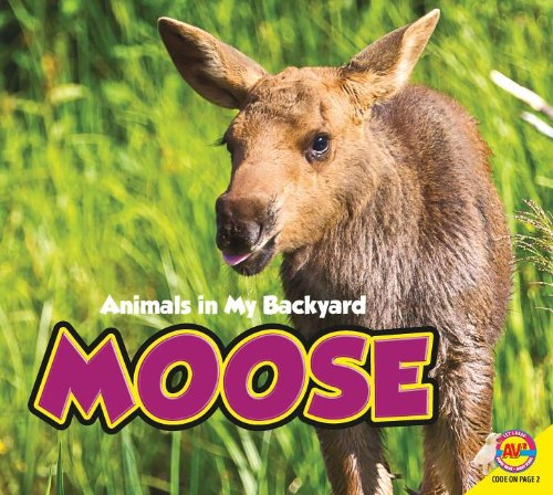 9781621272168: Moose (Animals in My Backyard)