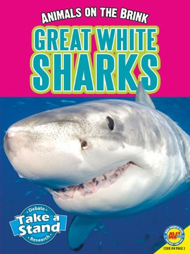9781621272212: Great White Sharks (Animals on the Brink)