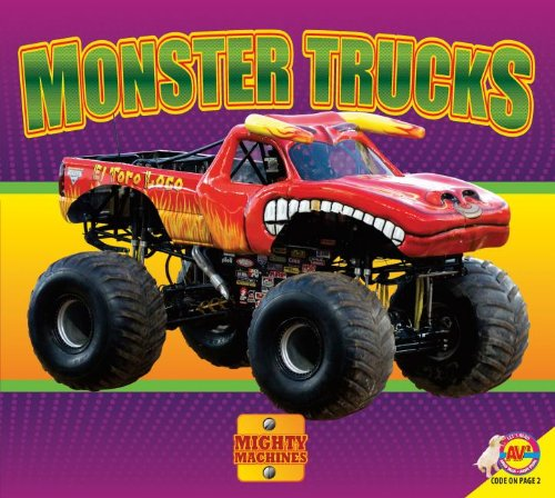 9781621273868: Monster Trucks (Mighty Machines)