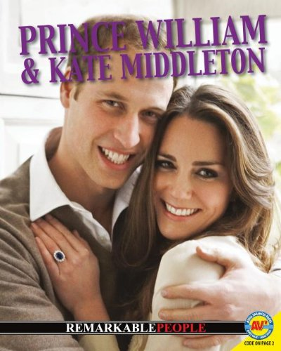 Prince William and Kate Middleton (Paperback): Lauren Diemer