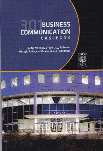 Business Communication 301 Casebook (Revised Edition): RIZKALLAH