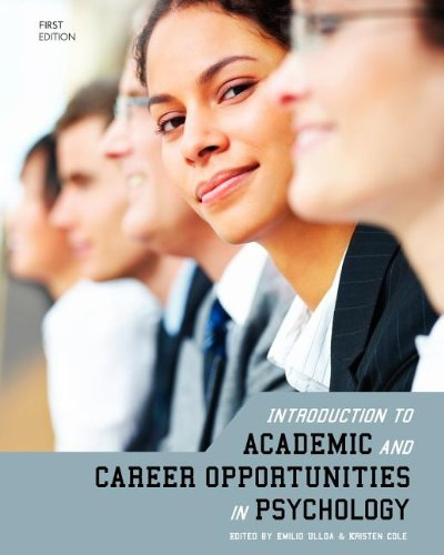 9781621312741: Introduction to Academic and Career Opportunities in Psychology
