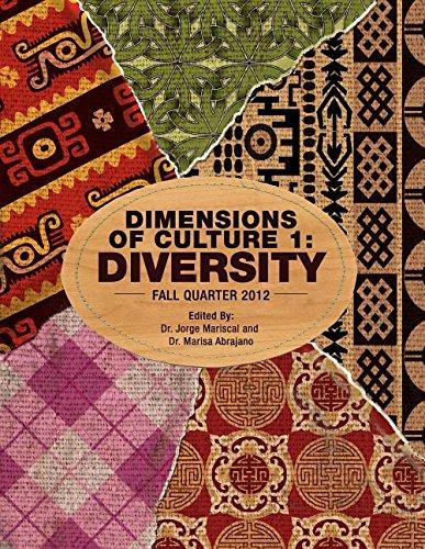 9781621313731: Dimensions of Culture 1: Diversity (Fall Quarter 2012)