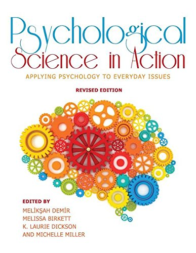 Psychological Science in Action: Applying Psychology to