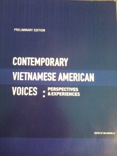 9781621314509: Contemporary Vietnamese American Voices: Perspectives & Experiences