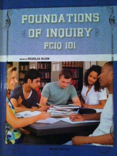 9781621314882: Foundations of Inquiry FCIQ 101 Second Edition
