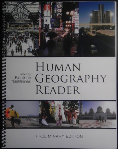 9781621318866: Human Geography Reader