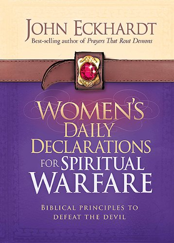 9781621362999: Women's Daily Declarations for Spiritual Warfare: Biblical Principles to Defeat the Devil