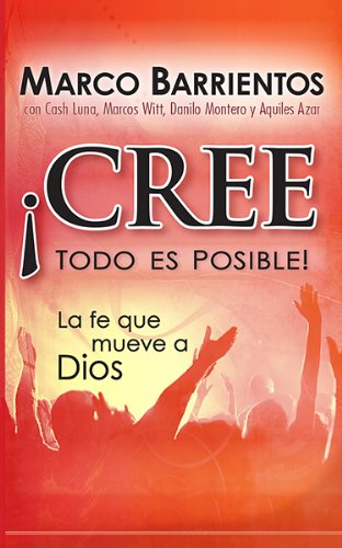 9781621364511: ¡Cree, todo es posible! - Pocket Book: La fe que mueve a Dios (Spanish Edition)