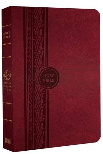 9781621369950: MEV Bible Thinline Reference Cranberry: Modern English Version