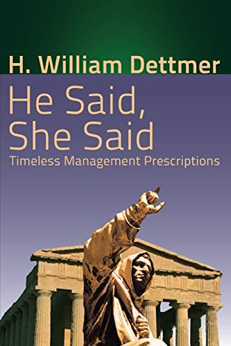 9781621375647: He Said, She Said: Timeless Management Prescriptions