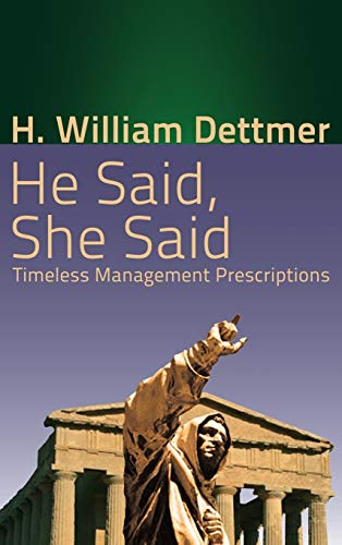 9781621375654: He Said, She Said: Timeless Management Prescriptions