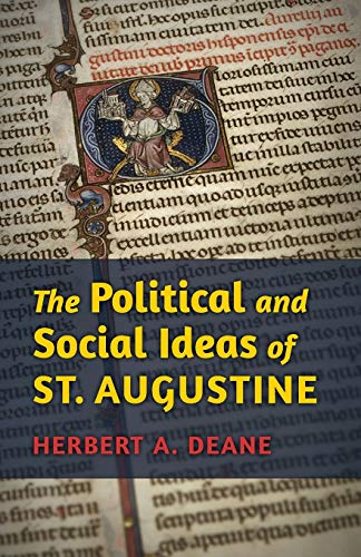 9781621380344: The Political and Social Ideas of St. Augustine